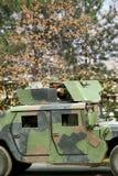 Soldado en la acción Imagen de archivo