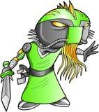 Soldado estrangeiro Robot Cyborg do guerreiro Foto de Stock Royalty Free
