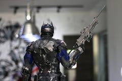 Soldado Figure Model del primer en la exhibición en el M Cafe imagen de archivo libre de regalías