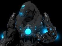 Soldado futuro Imagem de Stock Royalty Free