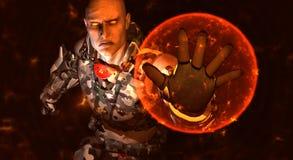 Soldado futuro Imagem de Stock