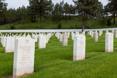 Soldado Headstone de la Primera Guerra Mundial imagen de archivo