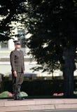 Soldado letón Imagen de archivo libre de regalías
