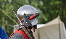 Soldado medieval 2 Foto de Stock Royalty Free