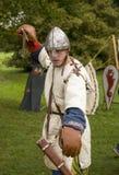 Soldado medieval Foto de archivo libre de regalías