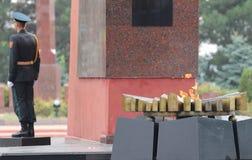 Soldado moldavo Fotografía de archivo libre de regalías