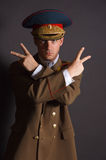 Soldado pateta Imagem de Stock Royalty Free