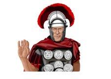 Soldado romano Foto de archivo libre de regalías