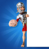 Soldado romano ilustración del vector
