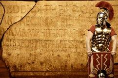 Soldado romano del legionario Imagen de archivo