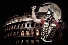 soldado romano del legionario Foto de archivo libre de regalías