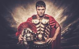 soldado romano del legionario Fotografía de archivo