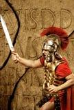 Soldado romano do legionary fotos de stock