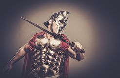 soldado romano do legionary Foto de Stock Royalty Free