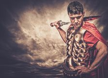 soldado romano do legionary Imagem de Stock