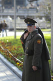 Soldado ruso Fotografía de archivo libre de regalías