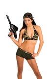 Soldado 'sexy' Fotografia de Stock