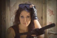 Soldado Silvia Foto de archivo libre de regalías