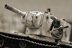 Soldado soviético Fotografia de Stock Royalty Free