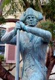 Soldado Statue imagen de archivo