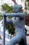 Soldado Statue imagenes de archivo
