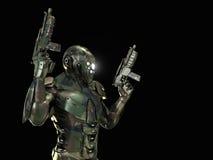 Soldado super avançado Imagens de Stock Royalty Free
