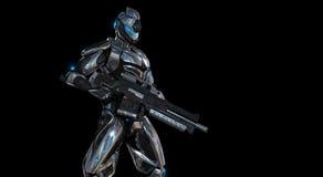 Soldado super avançado Imagens de Stock