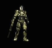 Soldado super avançado Fotografia de Stock