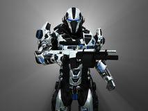 Soldado super avançado Fotografia de Stock Royalty Free