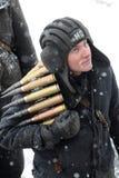 Soldado ucraniano Imagenes de archivo