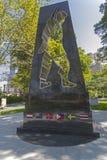 Soldado universal Monument en el parque de batería, Nueva York Fotografía de archivo