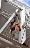 Soldador da construção Fotografia de Stock