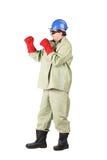 Soldador del boxeo Fotografía de archivo libre de regalías