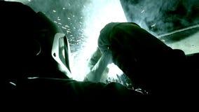 Soldadores 3 Vídeo industrial almacen de metraje de vídeo