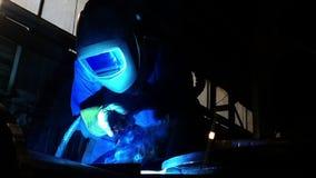 Soldadores 3 Vídeo industrial almacen de video