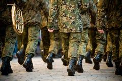 Soldados Foto de Stock Royalty Free