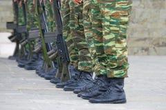 Soldados Fotografia de Stock
