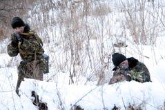 Soldados. Imagen de archivo libre de regalías