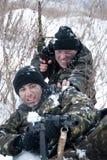 Soldados. Fotos de archivo