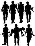 Soldados Fotografía de archivo libre de regalías