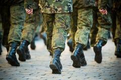 Soldados Fotografía de archivo