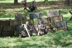 Soldados alemães Foto de Stock