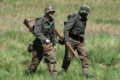 Soldados alemanes Foto de archivo
