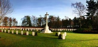 Soldados aliados memoráveis da guerra Fotografia de Stock Royalty Free