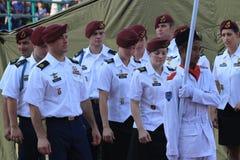 Soldados americanos Foto de Stock