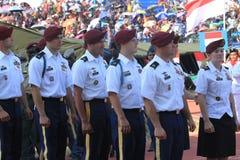 Soldados americanos Fotos de Stock Royalty Free