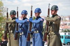 Soldados armados Foto de archivo libre de regalías