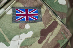 Soldados britânicos do exército uniformes Fotografia de Stock