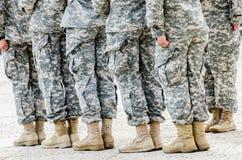 Soldados/cerimônia das torneiras de Liberty Memorial Foto de Stock