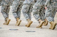 Soldados/cerimônia das torneiras de Liberty Memorial Imagens de Stock